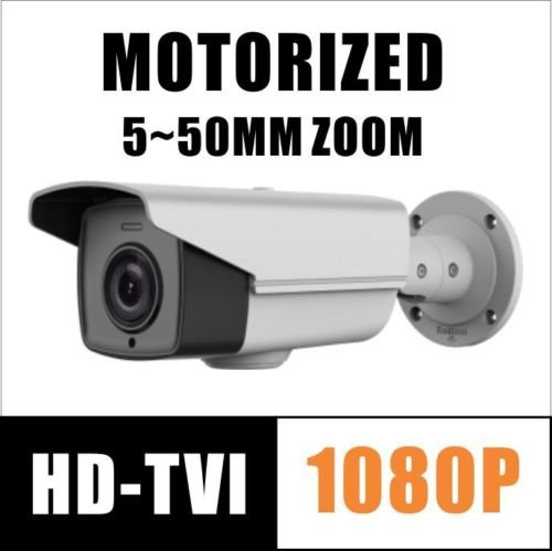 2MP HD-TVI 1080P Camera Motorized Zoom WDR 5~50mm Camera Hikvision OEM UL Listed