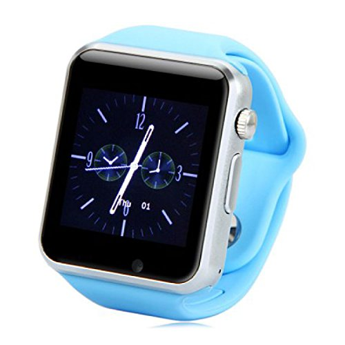Original A1/W8 Smartwatch Smartwatch Android azul: Amazon.es ...