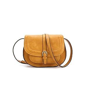 Women Crossbody Satchel Bag Small Saddle Purse and Tote Shoulder Handbags 25