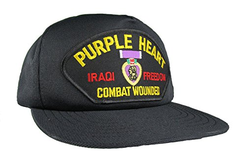 Iraqi Freedom Purple Heart Ballcap (Freedom Cap Ball Iraqi)