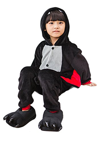 H&m Children's Costumes (TOKYO-H Kids Animal Sleepwear Kigurumi Costume (M for Height 52