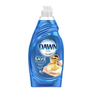 Dawn Ultra Dishwashing Liquid, Original Scent, Blue, 21.6 Ounce, Pack of 2