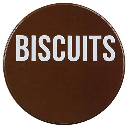 Paris Prix Bo/îte /à Biscuitsrelief Marron