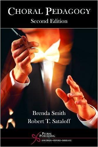 Book Choral Pedagogy by Brenda Smith (2005-11-18)