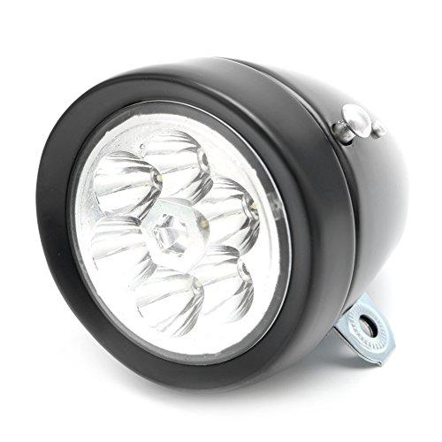 NNDA CO Retro Bicycle Bike Front Light Lamp 7 LED Fixie Headlight Headlamp with Bracket by NNDA CO (Image #5)