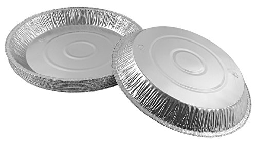 Pactogo 12'' Aluminum Foil Pie Pan Extra-Deep Disposable Tin Plates (Pack of 25) by PACTOGO (Image #3)