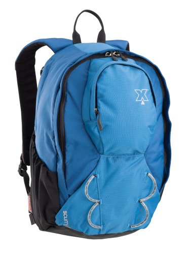 Coleman Exponent Scurry X15 Panel-Load Daypack,Blue, Outdoor Stuffs