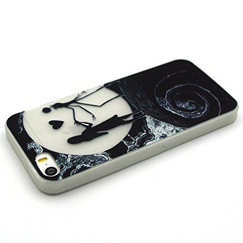 iphone 5S / iphone SE Blu-ray-TPU Housse silicone , Meet de Coque pour Apple iphone 5S / iphone SE Soft TPU Doux Silicone / Bumper Case /téléphone portable Case / Doux Housse de protection / Case Phon