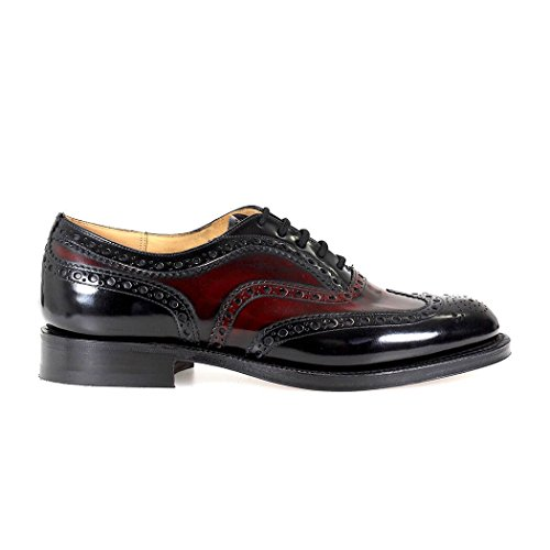 Church S Churchs Chaussures À Lacets Burwood Noir Burgundy