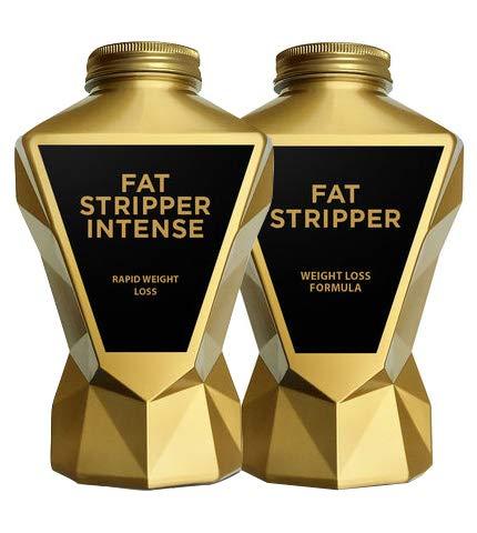 LA Muscle Fat Stripper + Fat Stripper Intense | Two Powerful Best Selling Fat Burners for Men and Women | Big Saving…