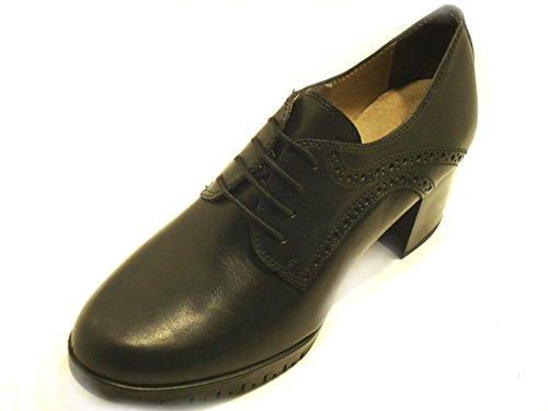 GRÜNLAND - Zapatos de vestir de Piel para mujer negro negro