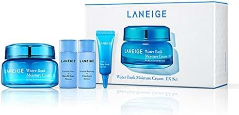 Laneige Water Bank Moisture Cream Set ( Total 4 Items )