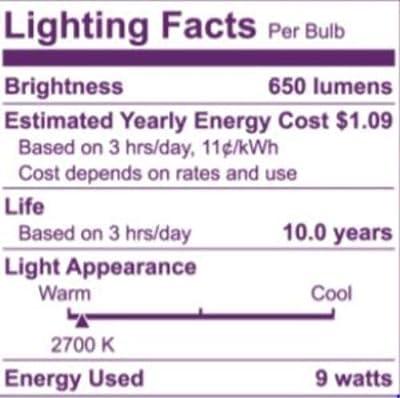 Philips 541037 LED Light Bulb, 12 Pack, 12 Piece