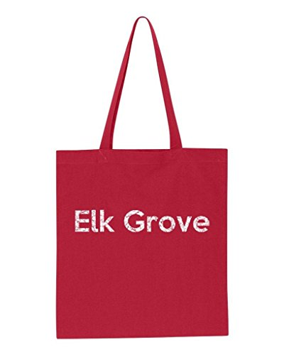 Ugo Elk Grove CA California Map Flag Home of University of Los Angeles UCLA USC CSLA Tote Handbags Bags Work School - Los Grove Outlet Angeles The