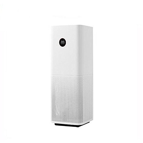 Price comparison product image Original Xiaomi Air Purifier Pro OLED Display Screen Laser Particle Sensor 500m3/h Particulate Matter CADR for 60m3 90-240V White Color