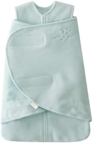 HALO SleepSack Micro-Fleece Swaddle, Mint, XX Small