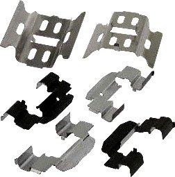 Carlson Quality Brake Parts P729 Brake Pad Installation Kit