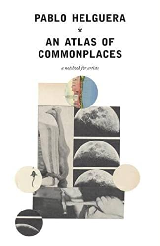 Book An Atlas of Commonplace. A notebook for artists