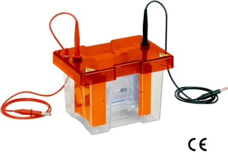 Satori Bio Complete Mini Vertical Gel Electrophoresis Apparatus - Mini 10x10cm Dual, 2 sets of Glass plates with 1mm thick bonded spacers, 2x12 samples, 1mm thick combs, cooling pack, dummy plate and casting base.