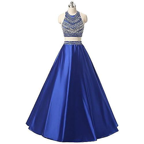 Two Piece Prom Dresses Under 150 Dollars: Amazon.com