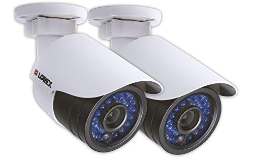 Lorex LNB2153PK2B Full HD 1080p Indoor/Outdoor IP Security Camera (White)