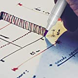 D&D Fabric Marking Pens, 4 Color Water Soluble