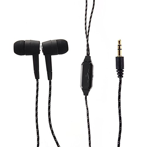 Joylive 3.5mm in-Ear Stereo Earphone Headphone Earbud Volume Control Compatible with iPod MP3 MP4