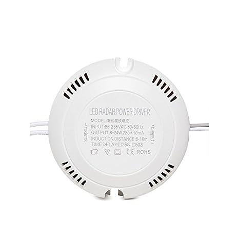 Driver para LEDs 8-18W con Detector de Proximidad por Microondas: Amazon.es: Iluminación