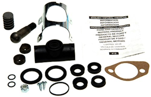Mustang Power Steering Cylinder (Edelmann 7885 Power Steering Control Valve Complete Rebuild Kit)