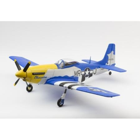 Airplane Ready Receiver - Ares AZS1402 ARES P-51D MUSTANG 350 READY FOR RECIEVER RC AIRPLANE