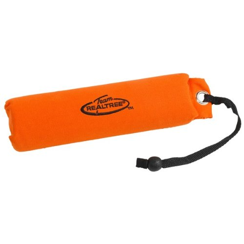 Team Realtree Orange Canvas Dog/Puppy Training Throwing Dummy Floatable