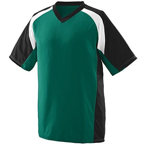 Augusta Sportswear MEN'S NITRO JERSEY 3XL Dark Green/Black/W