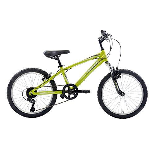 Best Piranha 7 Speed Kids' MTB, 20 inch wheels, Boy's Bike, Green (online)