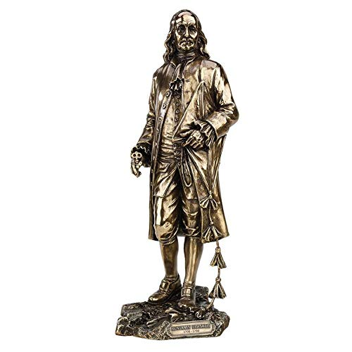 Design Toscano Founding Fathers Franklin and Washington Statue, Bronze