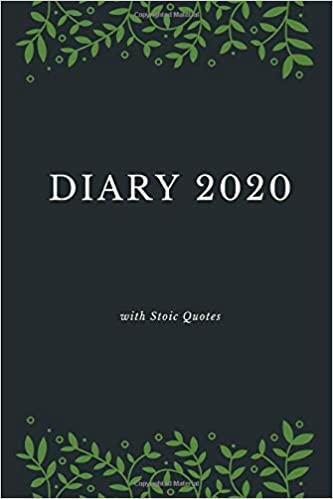 diary stoic quotes monthly week to view planner agenda