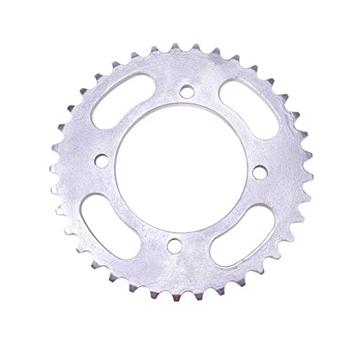 (TDPRO 420-37T-76MM 420 Chain 37 Teeth 17mm Rear Chain Sprocket for ATV Quad Pit Dirt Bike Motorcycle)