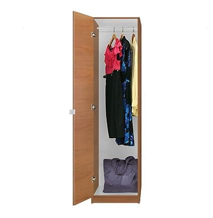 Attrayant Alta Narrow Wardrobe Closet   Left Opening Door