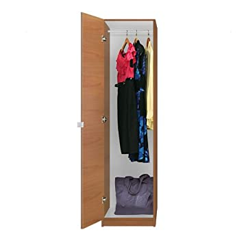 Alta Narrow Wardrobe Closet   Left Opening Door