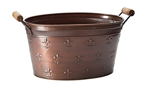 KINDWER Copper Fleur De Lis Oval Tub, La - Embossed Tub Shopping Results