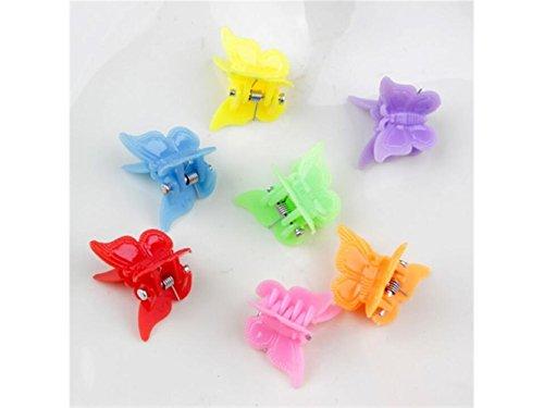Junson Exquisito Color Caramelo de los niños pequeño Clip Lindo Mini Pinzas para el Cabello Accesorios para el Cabello...