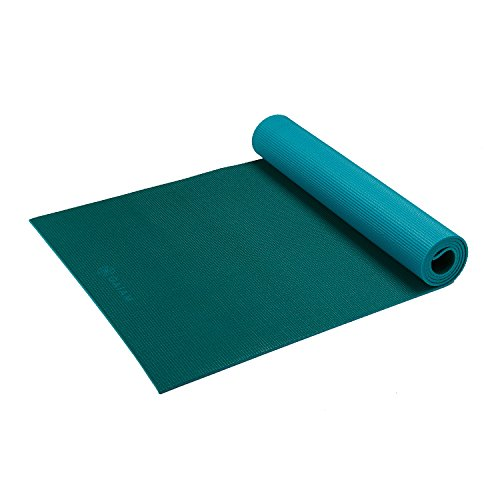 Gaiam Yoga Mat Classic Solid Color Reversible Non Slip Exerc