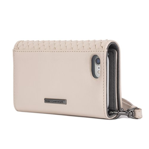 Rebecca Minkoff Love Lock Wristlet for iPhone X - Nude Snakeskin - RMIPH-050-SNAKE by Rebecca Minkoff (Image #2)