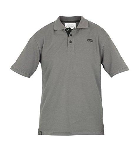 neuen Fox Chunk grau und schwarz Super Weiches Poloshirt–alle Größen