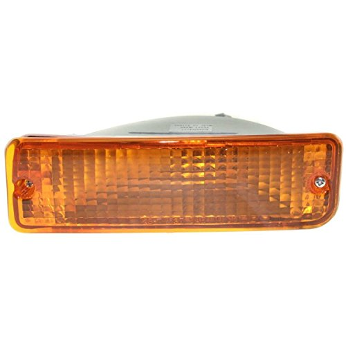 DAT 93-98 TOYOTA T100 PICKUP FRONT SIGNAL LIGHT ASSEMBLY IN THE BUMPER LEFT DRIVER SIDE (T100 Pickup Drivers Side Tail)