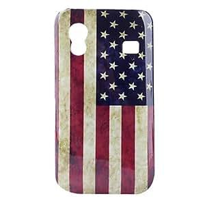 MOFY- Carcasa de Policarbonato de la Bandera de los Estados Unidos para el Samsung S5830