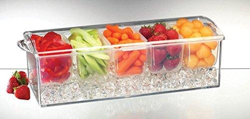 Prodyne Bowl Clear Plastic