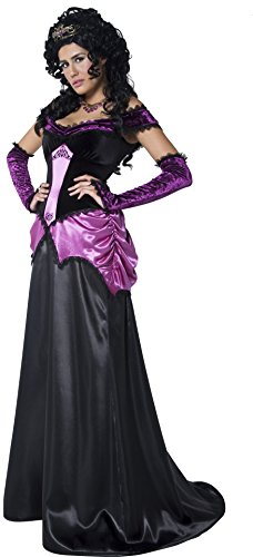 Smiffys Women's Gothic Princess Costume (Alien Princess Costume)