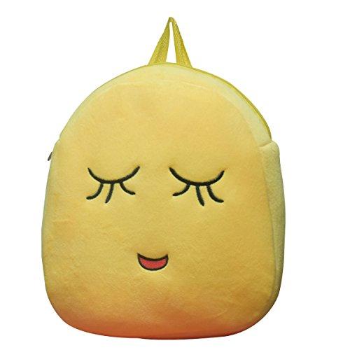 Tinytot Smiley Kids School Bag  Yellow_5