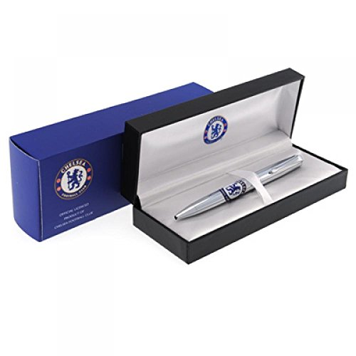 Football Gifts - Chelsea Fc Gift Ideas - Official Executive Ball Point Pen - A Great Present For Football Fans ()