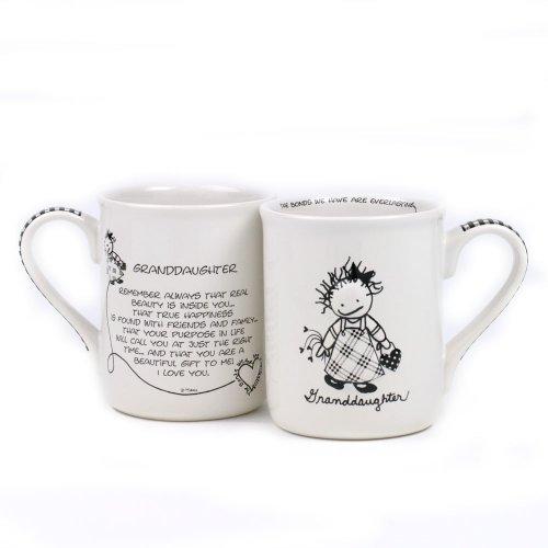 Department 56 4031080 Granddaughter Mug, 4.25